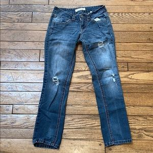 Paris Blues Distressed Jeans Size 5 Ripped